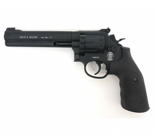 Пневматический револьвер Umarex Smith & Wesson 586 6""